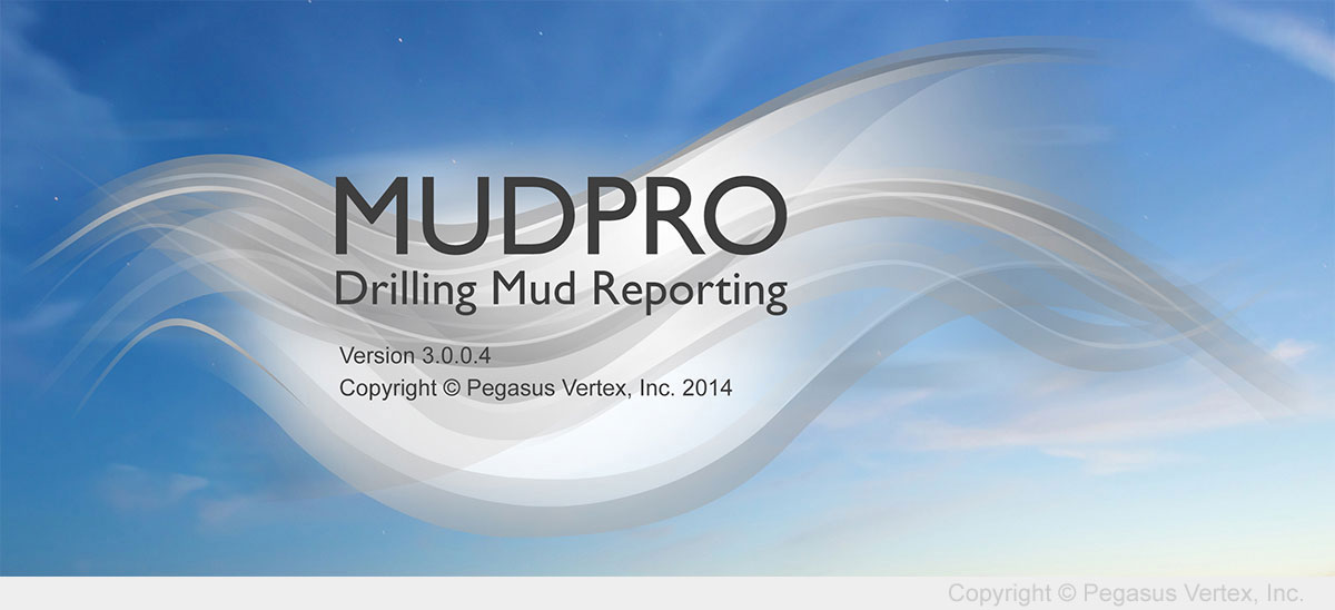 MUDPRO - Drilling Mud Reporting | Pegasus Vertex, Inc.