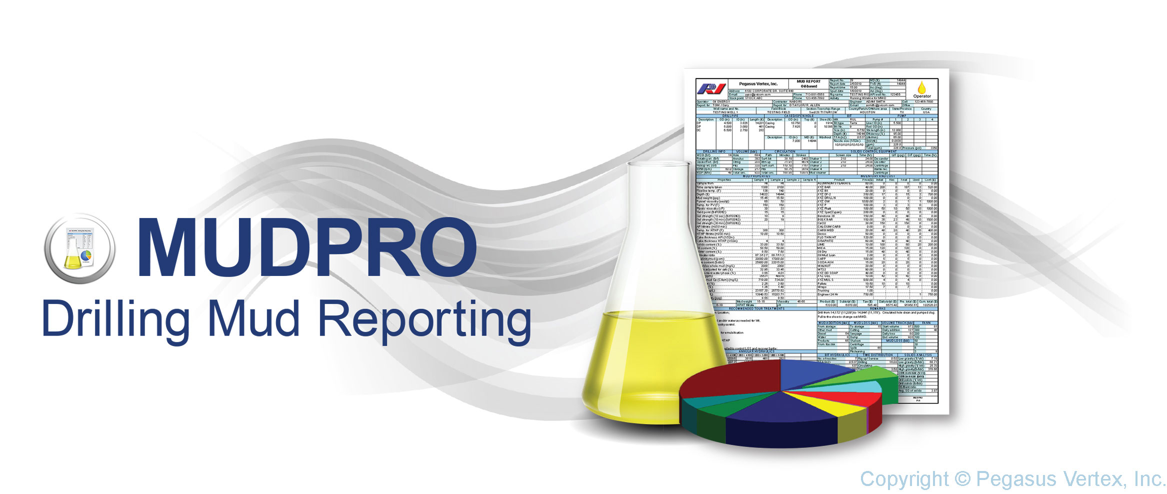 MUDPRO - drilling mud reporting