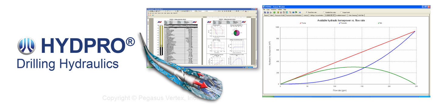 HYDPRO - Drilling-Hydraulics | Pegasus Vertex, Inc. - Drilling Software