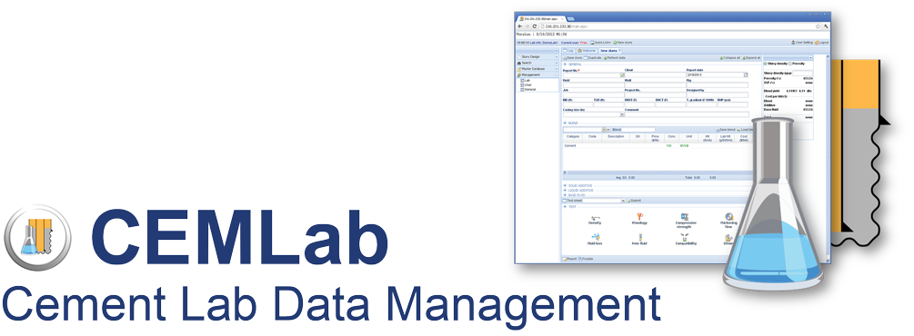 CEMLab - Cement Lab Data Management Software