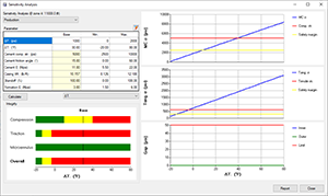 Sensitivity Analysis | CEMLife Screenshot